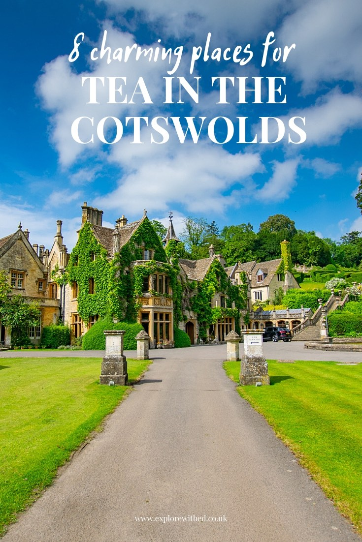 8 charming places for tea in The Cotswolds including Castle Combe