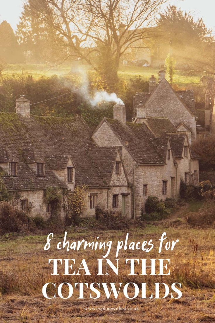 8 charming places for tea in The Cotswolds including Bibury