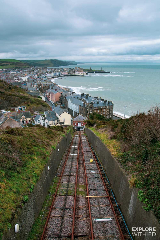 The Cliff Railway in Aberystwyth