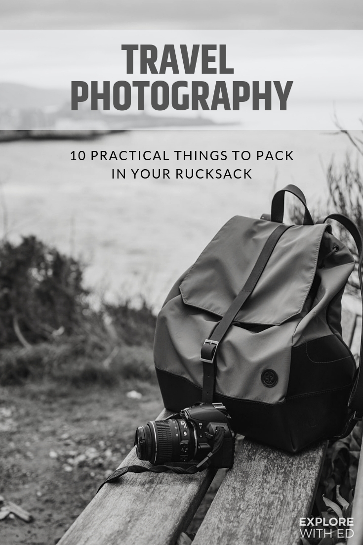Travel photography packing list, plus advertisement feature reviewing a Thorndale Weston Rucksack