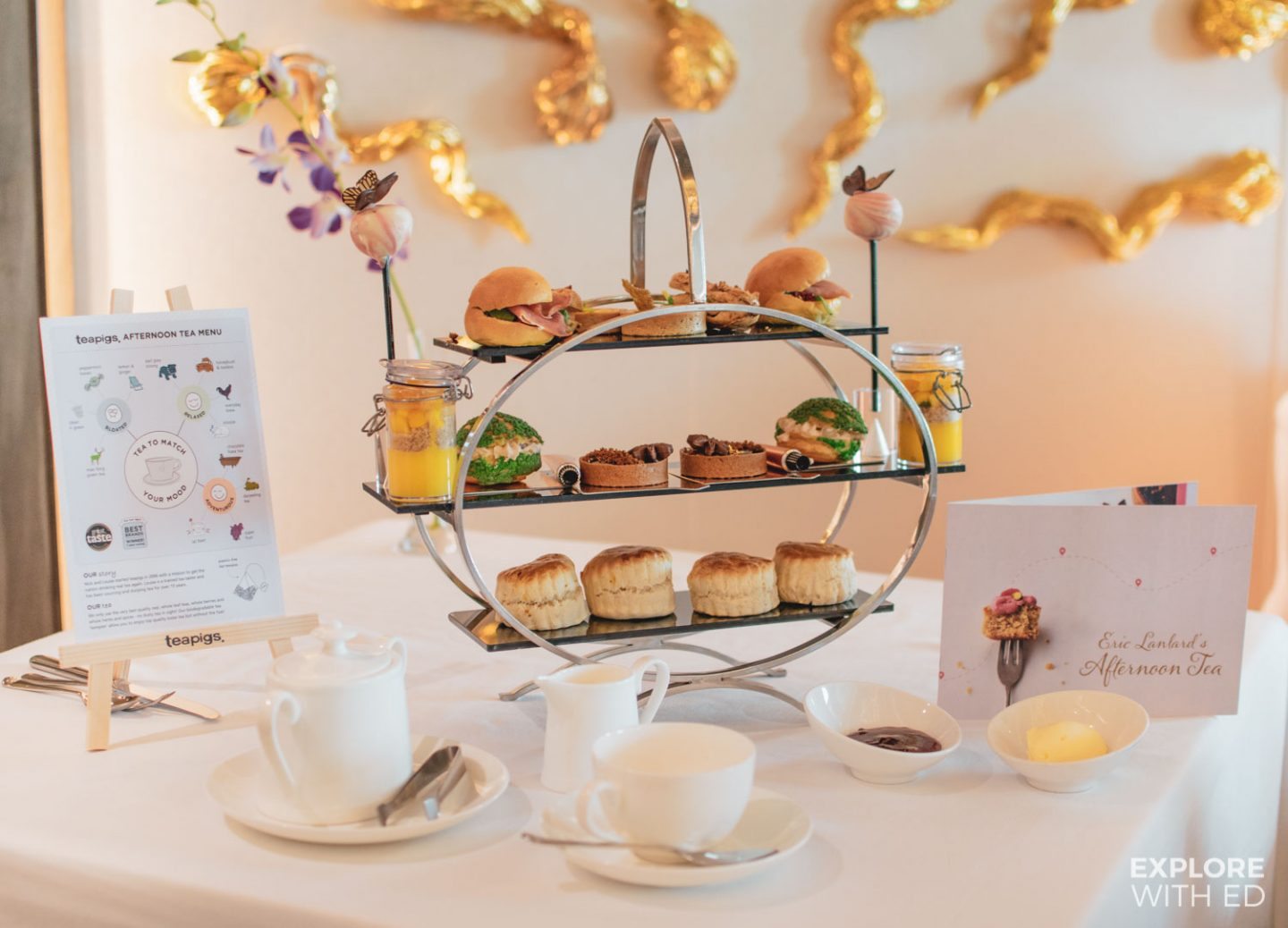 Eric Lanlard's Afternoon Tea - Cake Boy, P&O Cruises Food Hero
