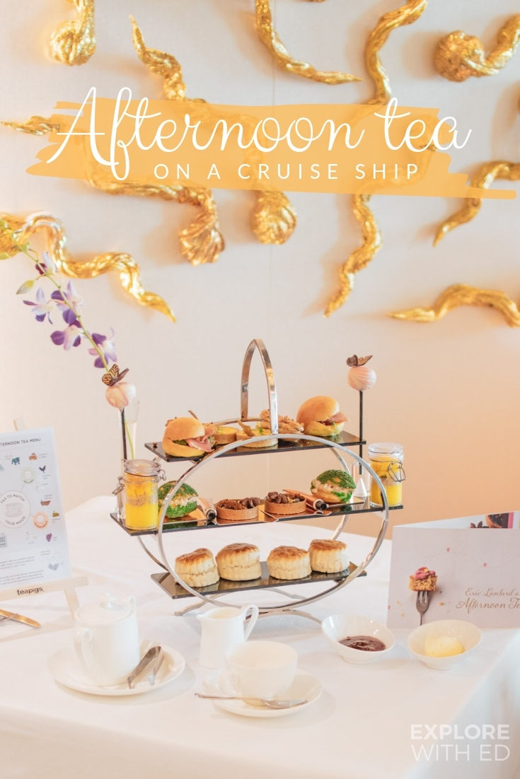 A list of luxurious Afternoon Teas on cruise ships