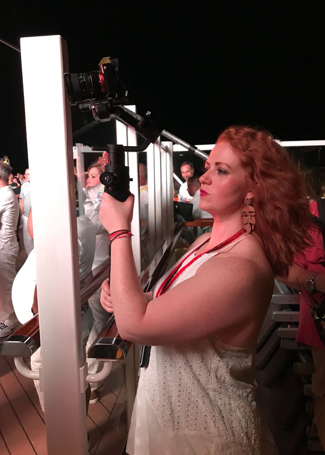 Filming for Secrets of the Mega Cruise Ship