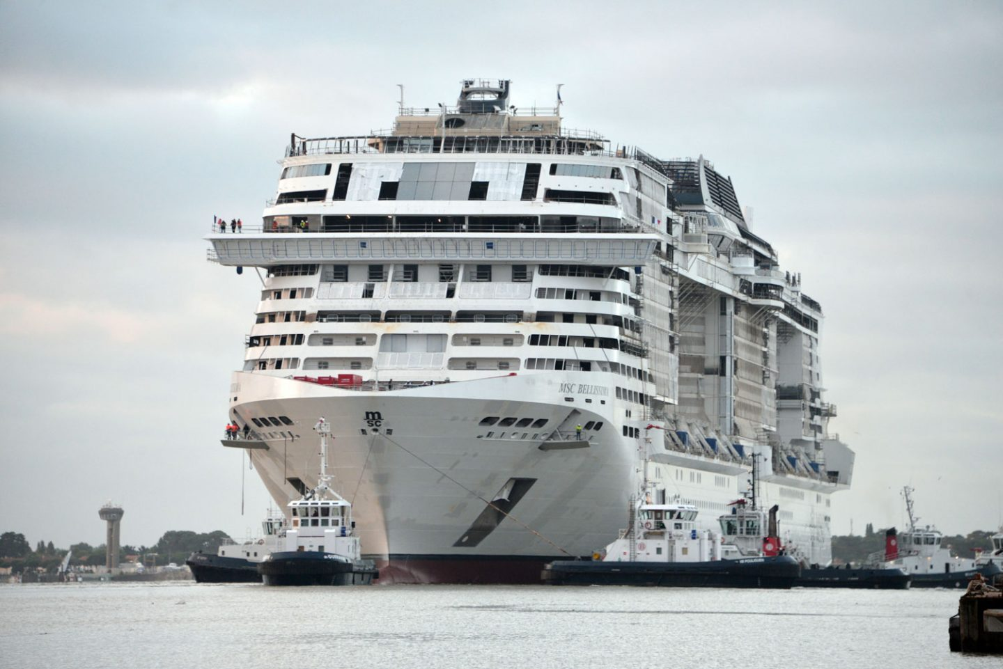 MSC Bellissima float out