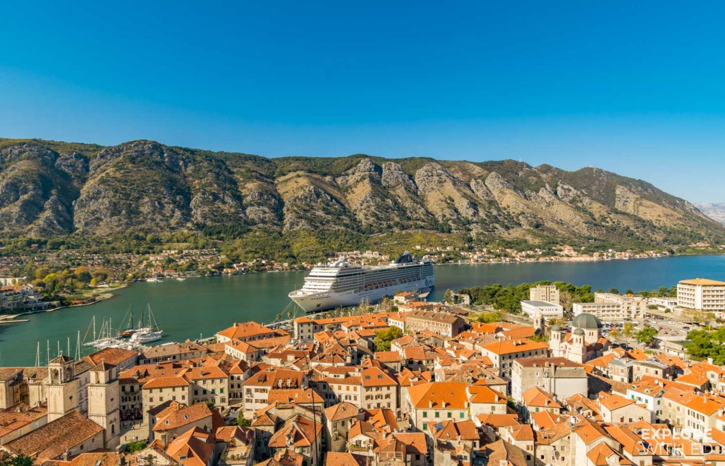 MSC Cruise to Kotor Montenegro