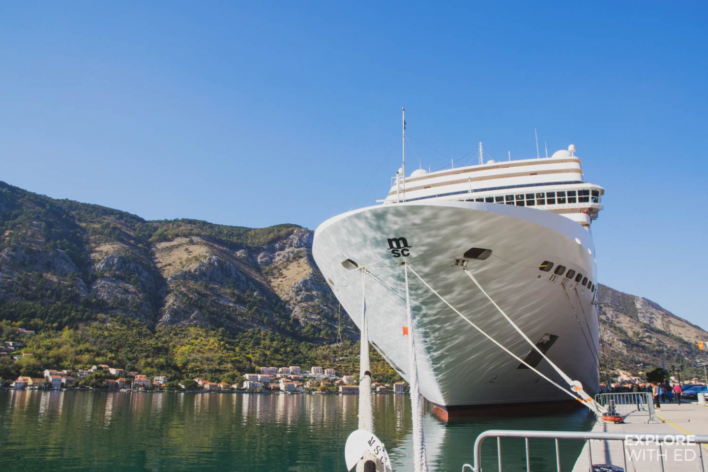 MSC Musica in Kotor