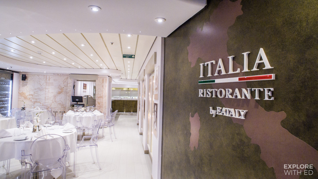 Italian food by EATALY onboard MSC Preziosa