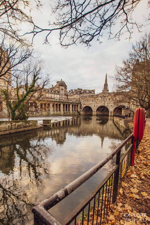 Pulteney Bridge, one of the most popular photo spots in Bath