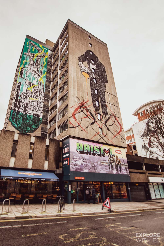 Street art in Bristol, England