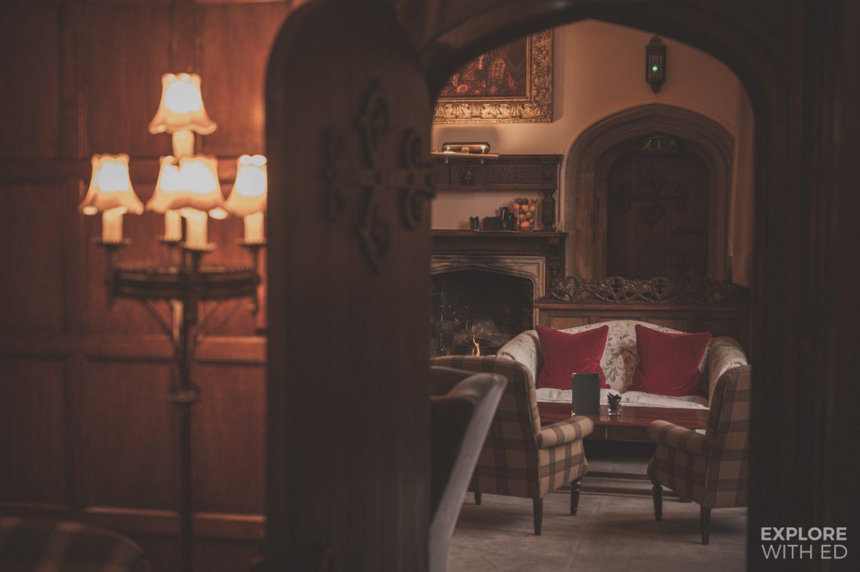 Inside the Tudor mansion Thornbury Castle