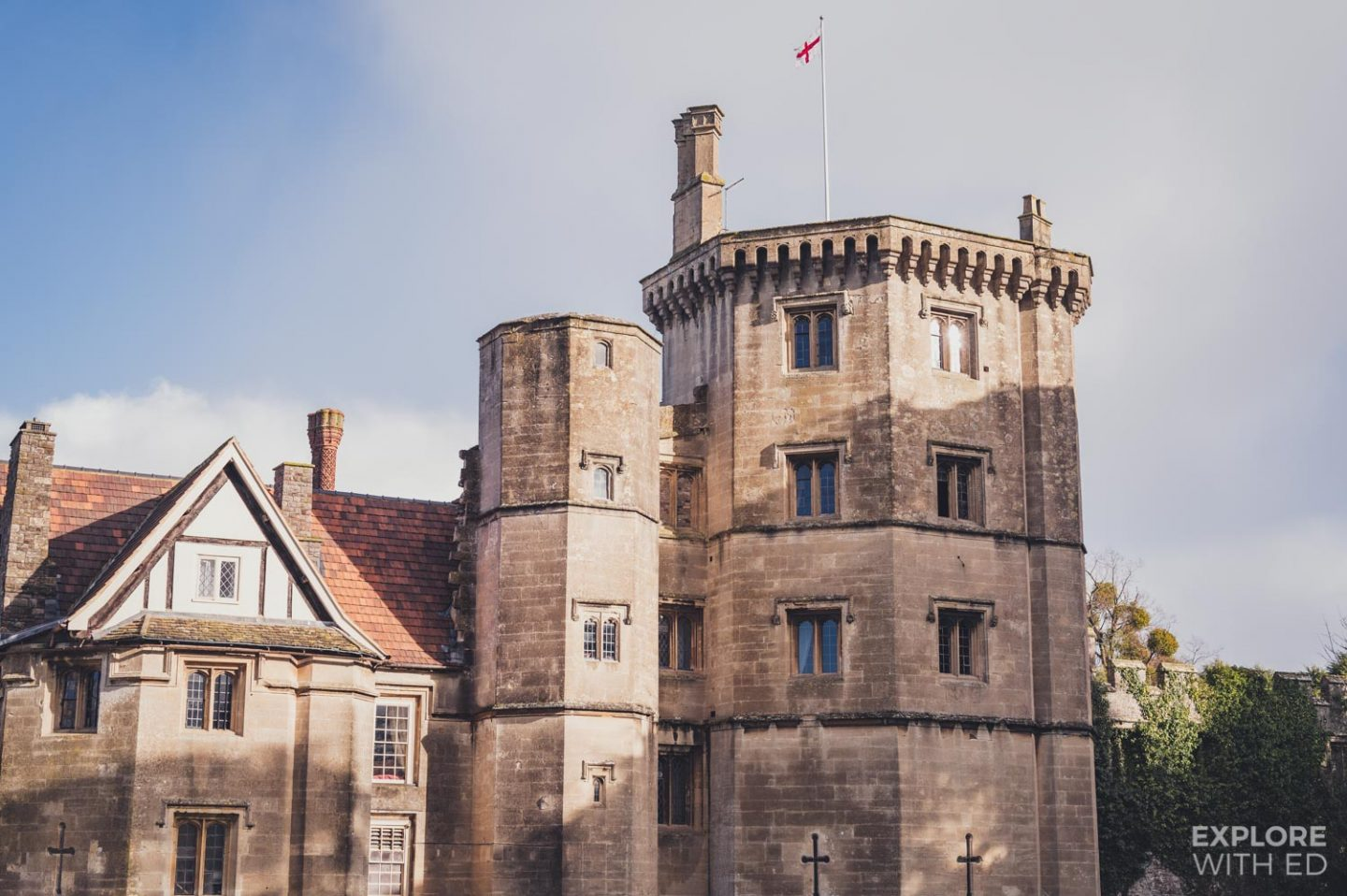 Thornbury Castle in the West Country, England where King Henry VIII and Anne Boleyn stayed