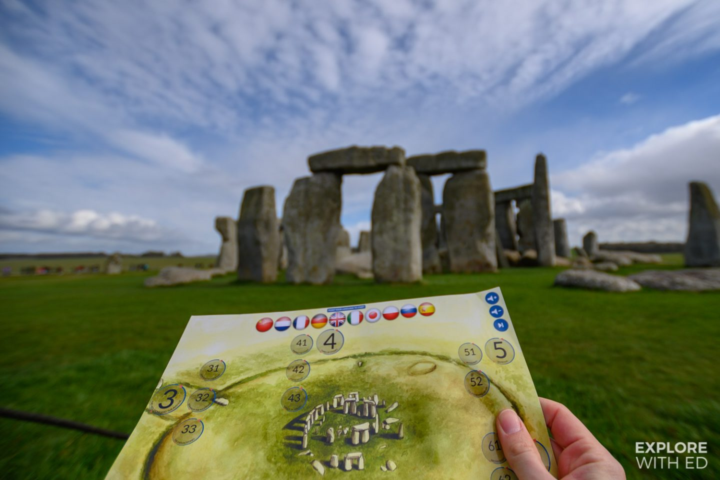 Stonehenge using interactive map by Evan Evans Tours {AD}