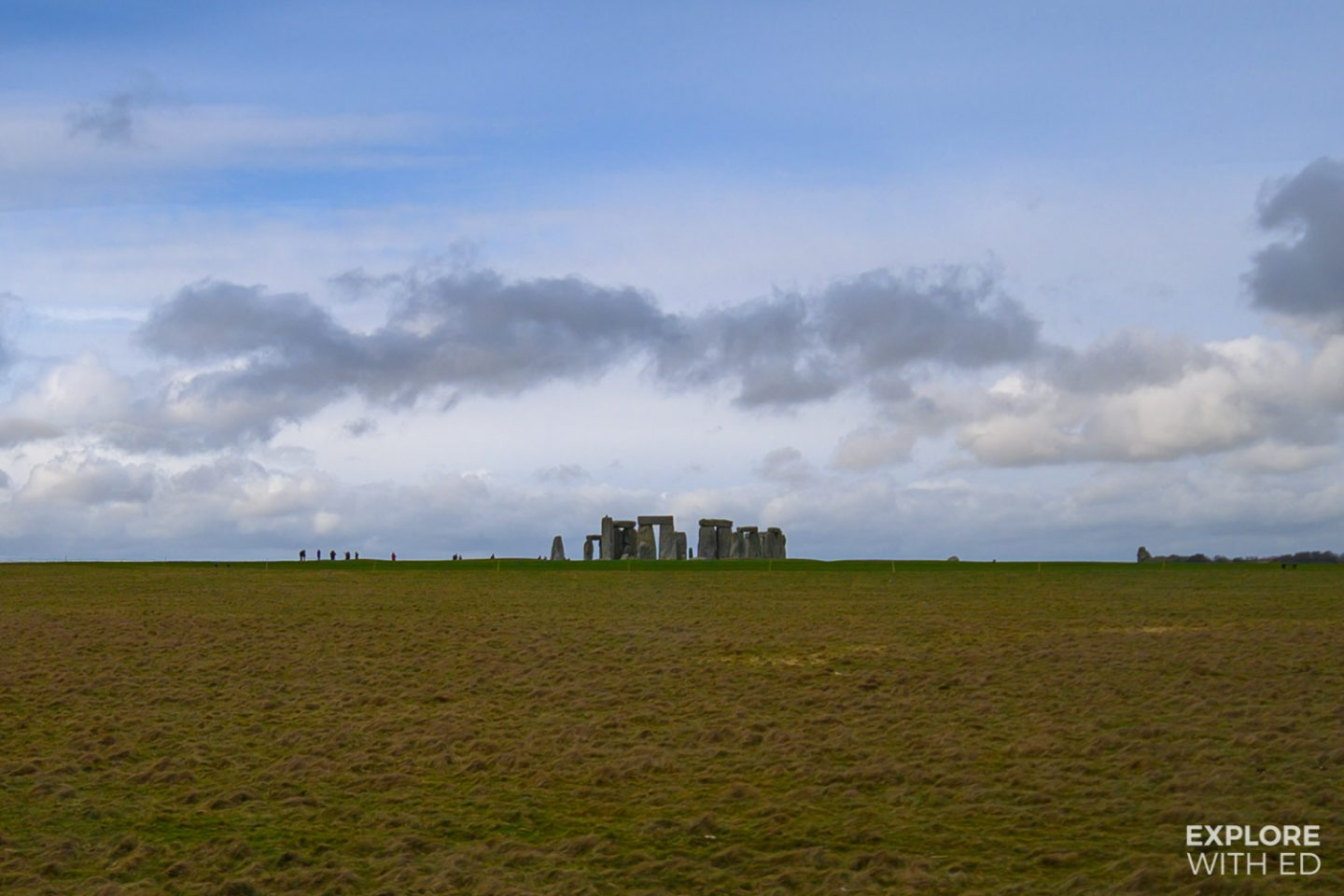 Driving past Stonehenge on the A303