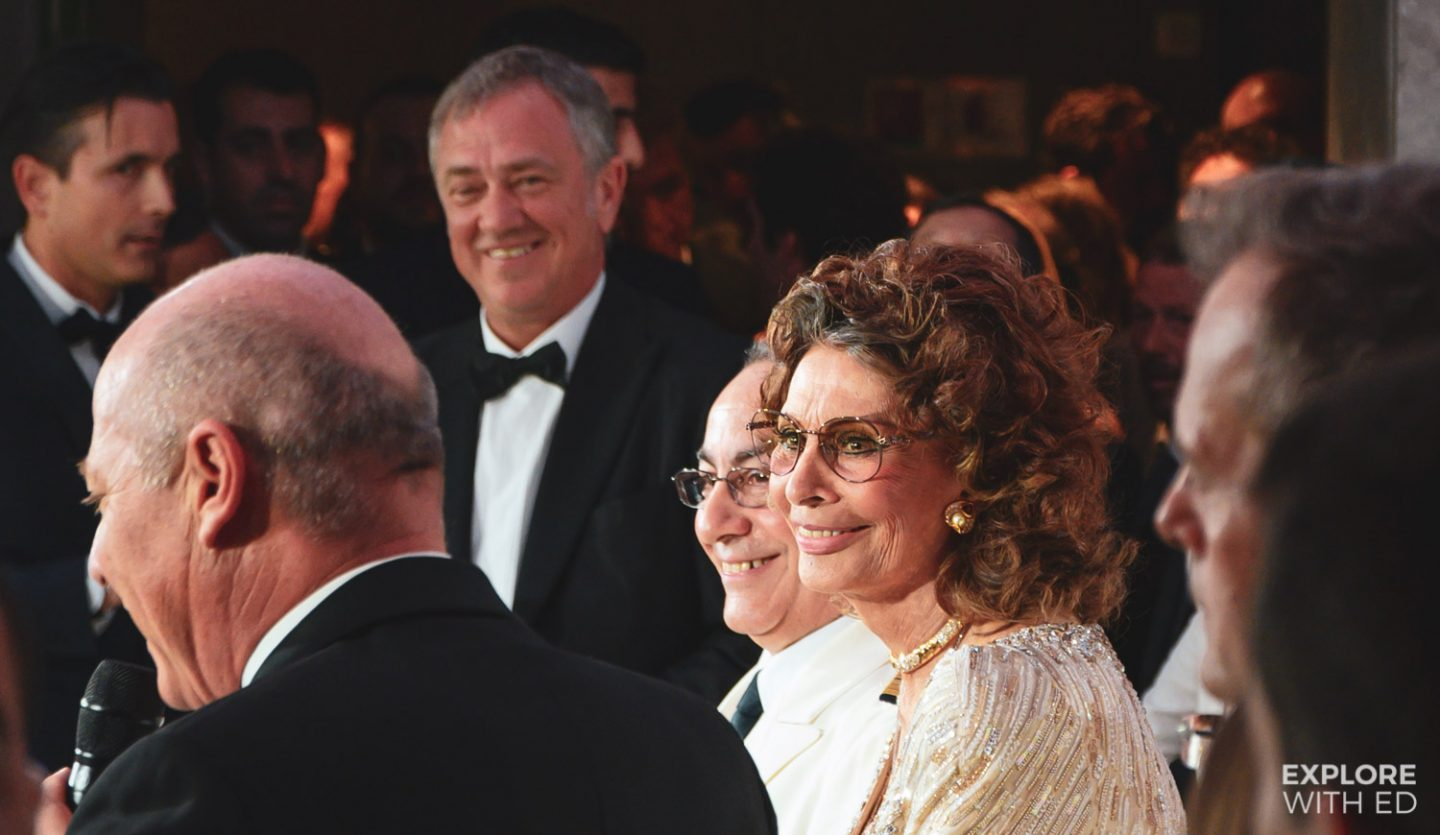 Sophia Loren, Godmother of MSC Bellissima