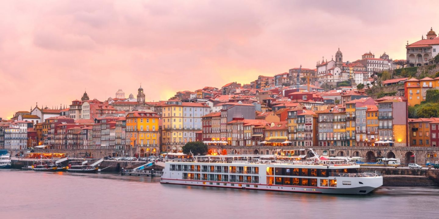 Douro River Cruise Longship in Porto, Portugal