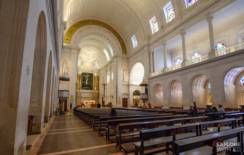 Inside the Basilica of Fatima
