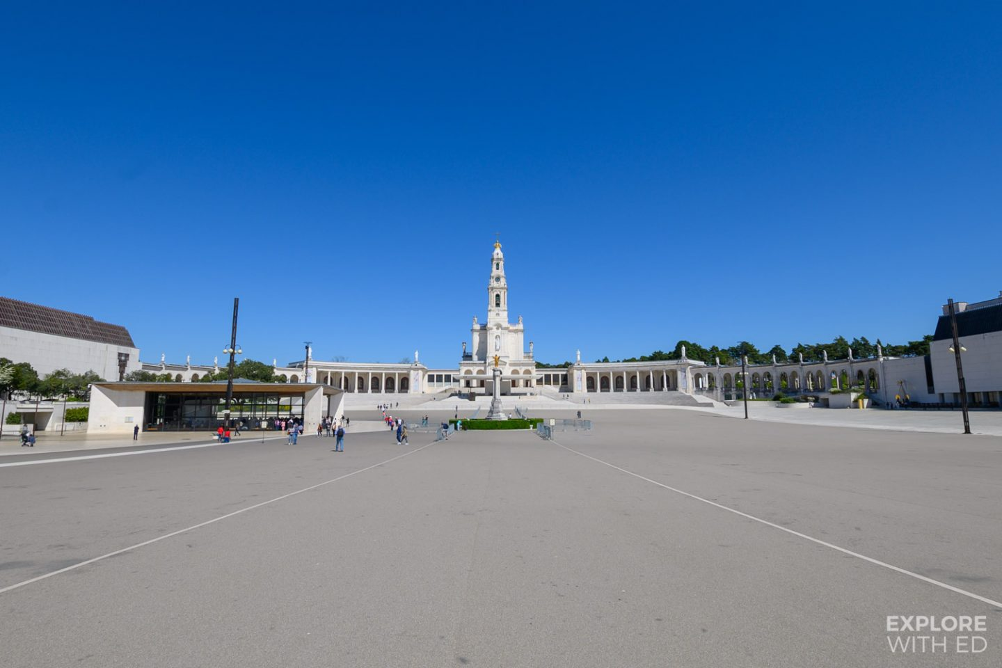 Sanctuary of Our Lady of Fátima main square