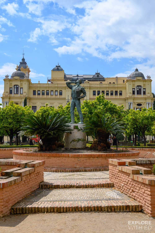 Town Hall in Malaga