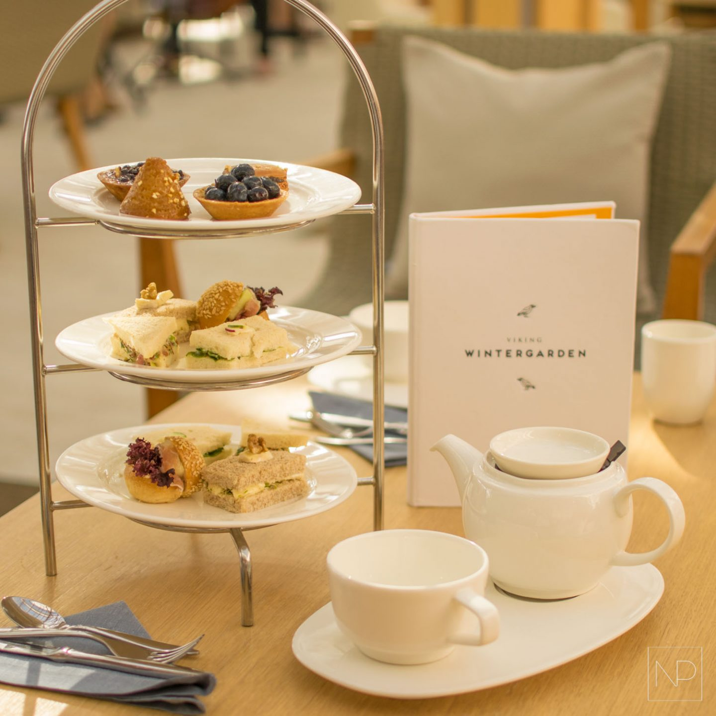 Viking Cruises Afternoon Tea [ad]