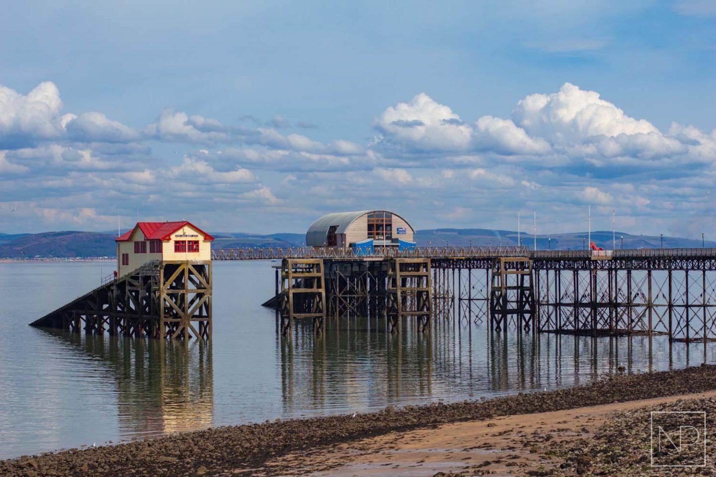 Mumbles pier in Swansea, Wales