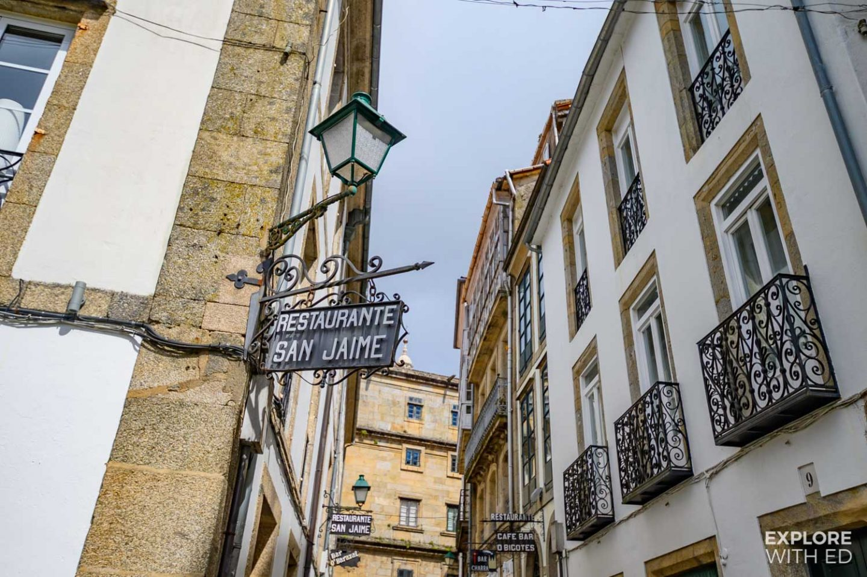 Bars and cafes in Santiago de Compostela