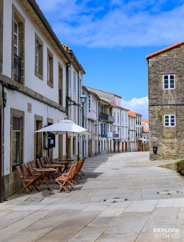 Side street in Santiago de Compostela