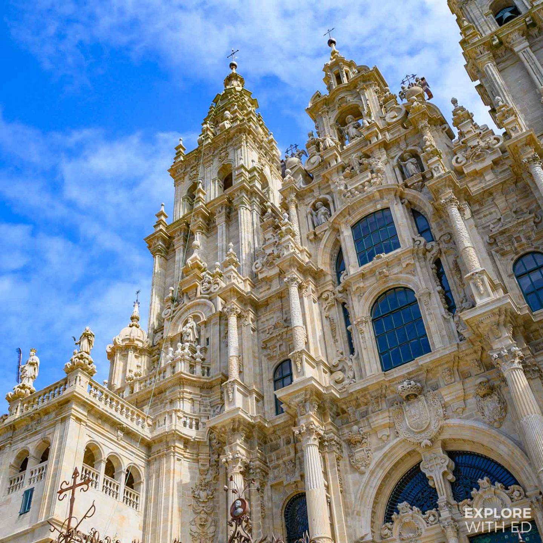 Sculptures and Baroque Architecture, Santiago de Compostela
