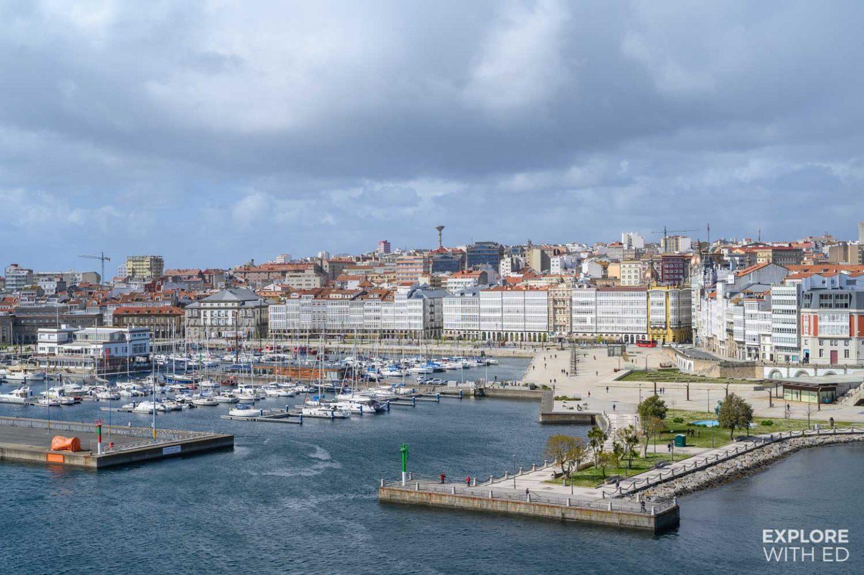 A Coruna Port
