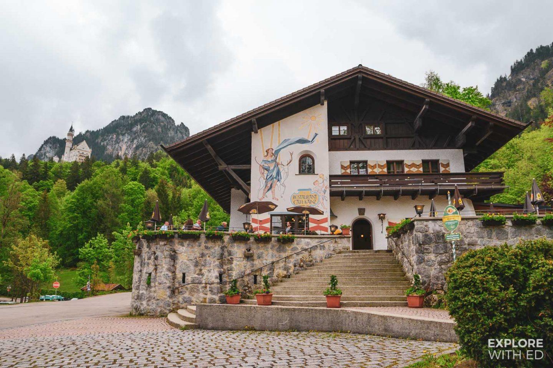 Restaurants and cafes in Hohenschwangau, Bavaria