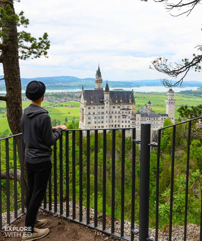 Viewpoint of Neuschwanstein Castle