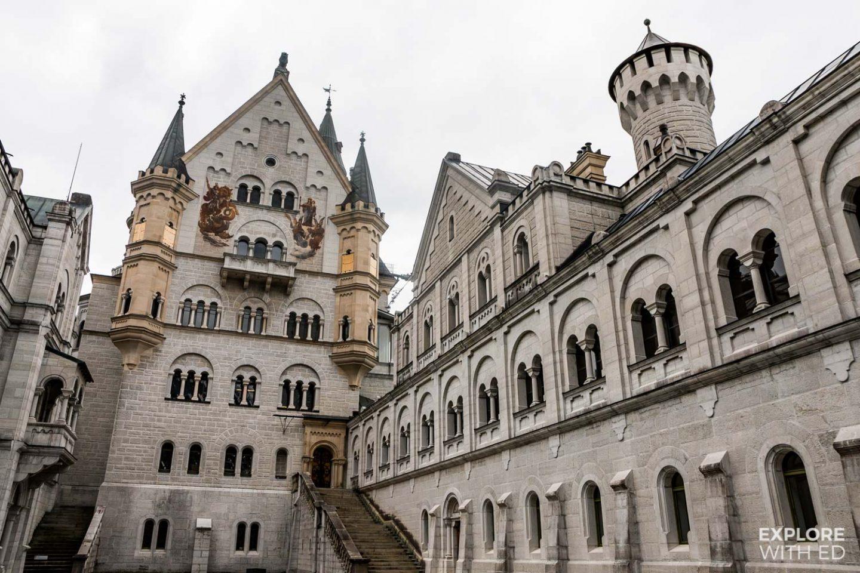 Tour inside Neuschwanstein Castle