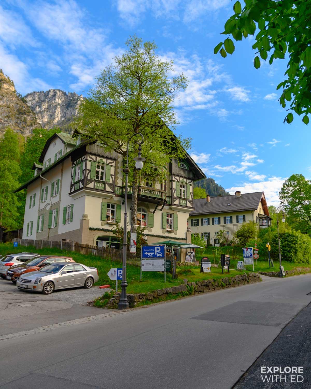 Alpine lodges in Hohenschwangau
