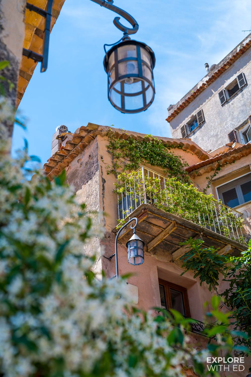 The historic medieval character of Eze Village