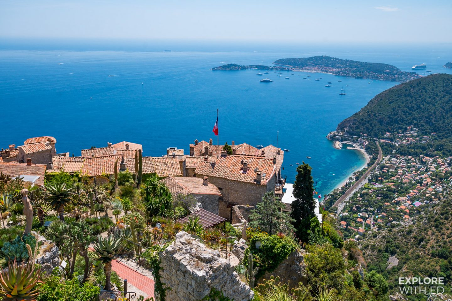 The charming village of Eze, South of France