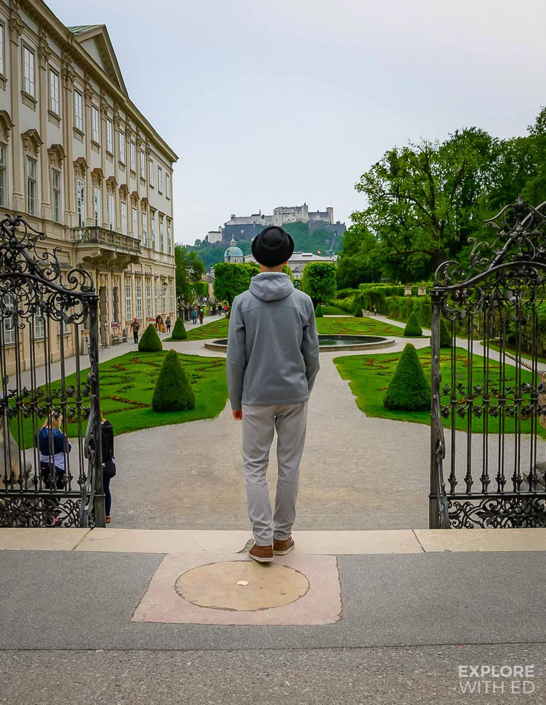 Do-Re-Mi steps in Salzburg, Austria