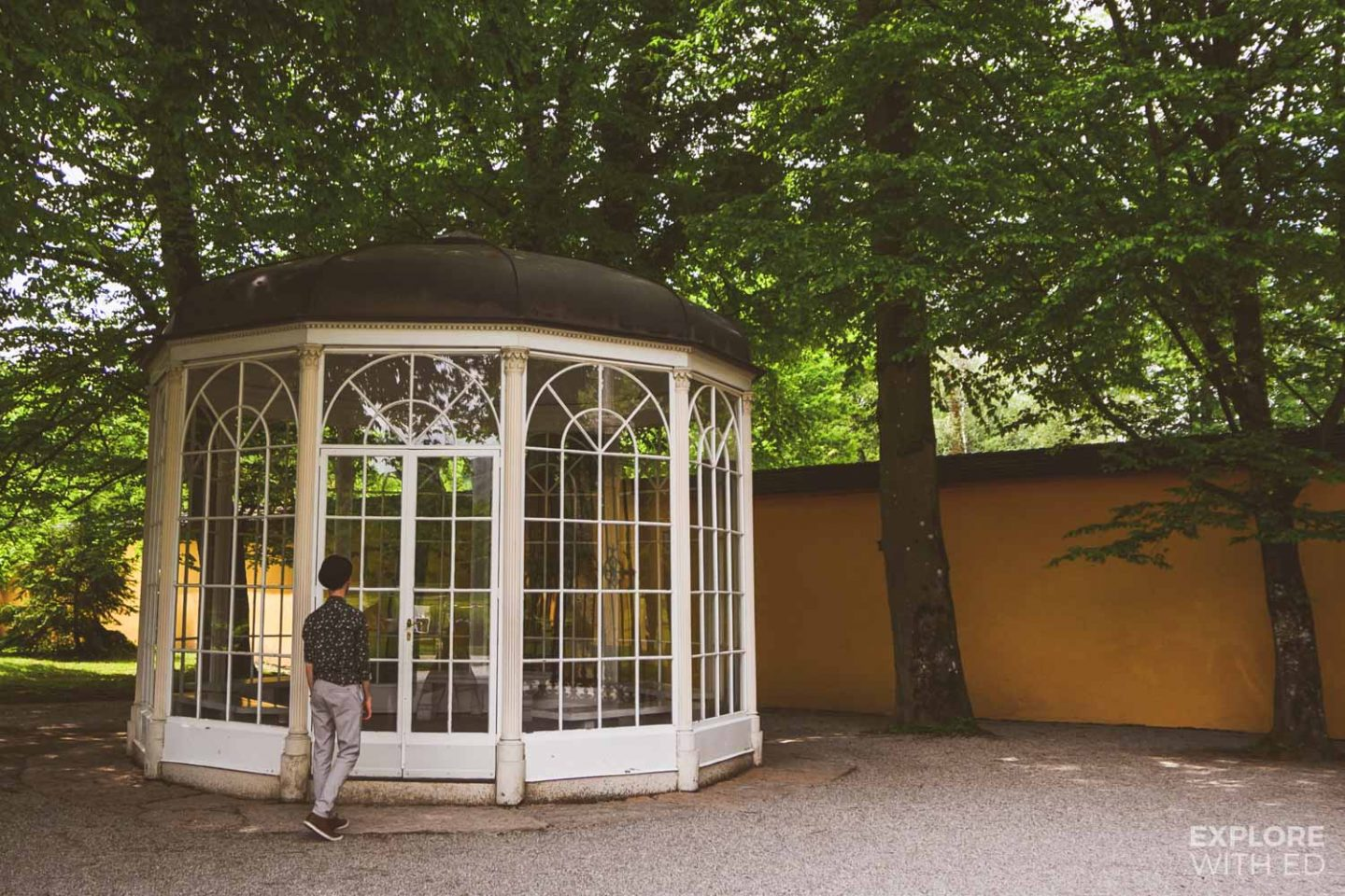 The Sound of Music Gazebo at Hellbrunn Palace