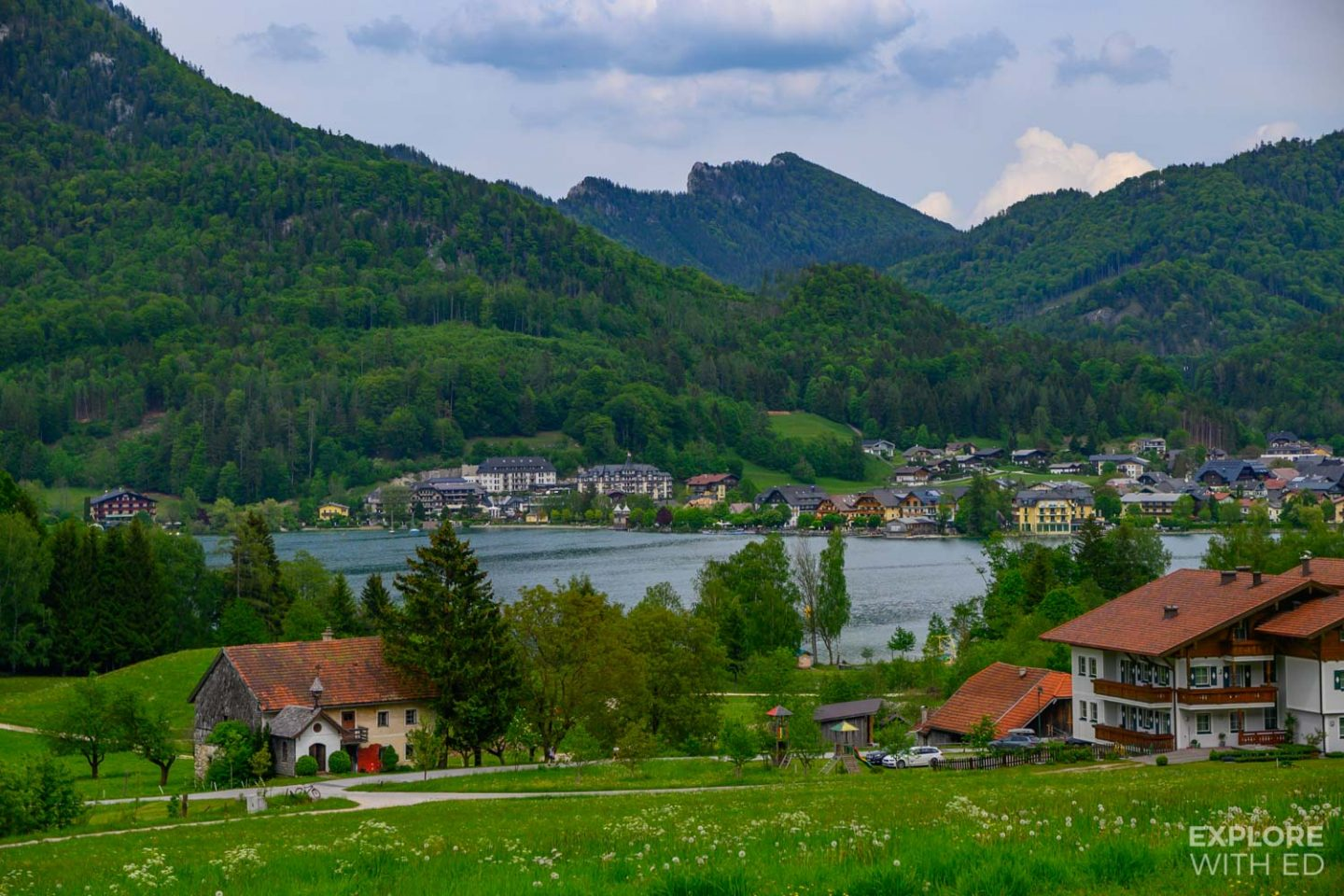 The Lake District of Austria
