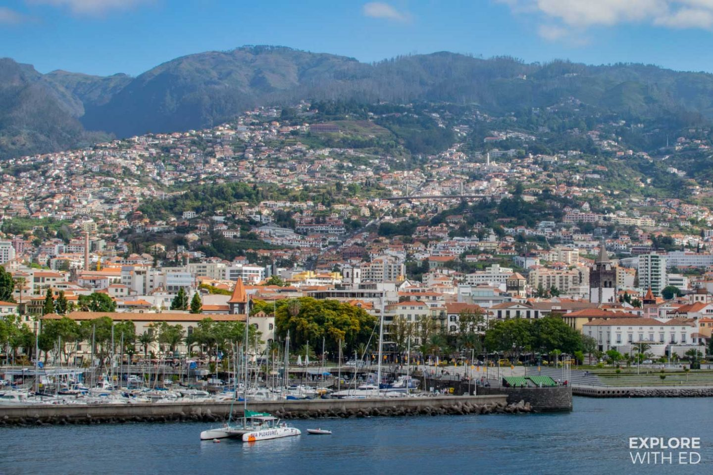 Funchal cruise ship port