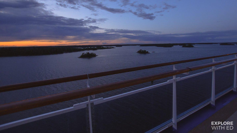 Cruising through the Stockholm Archipelago