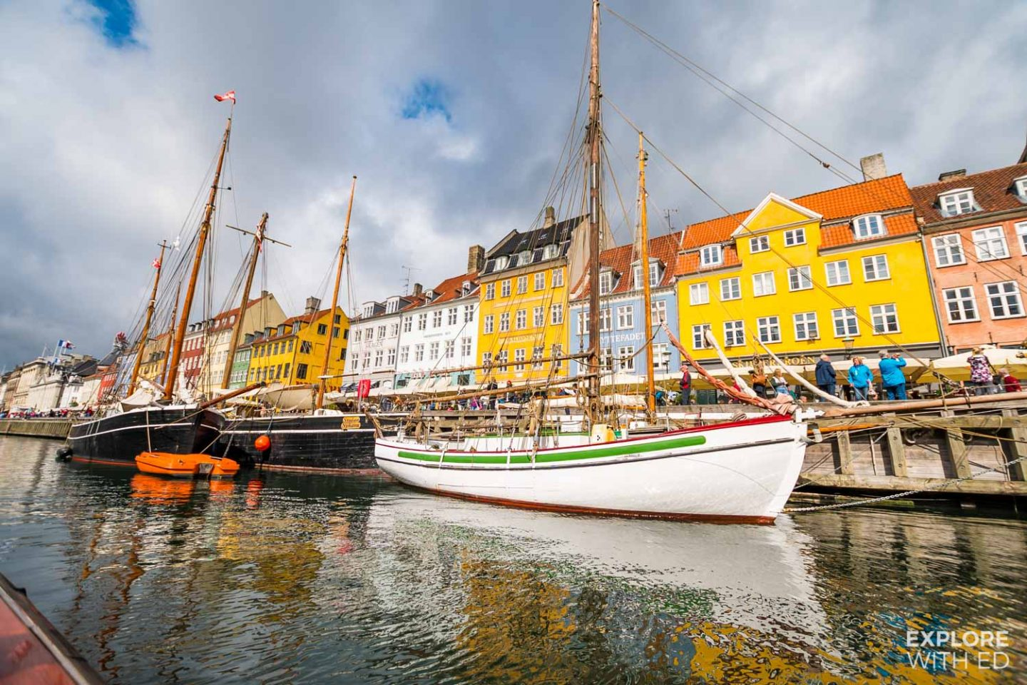 Canal tours in Copenhagen from Nyhavn