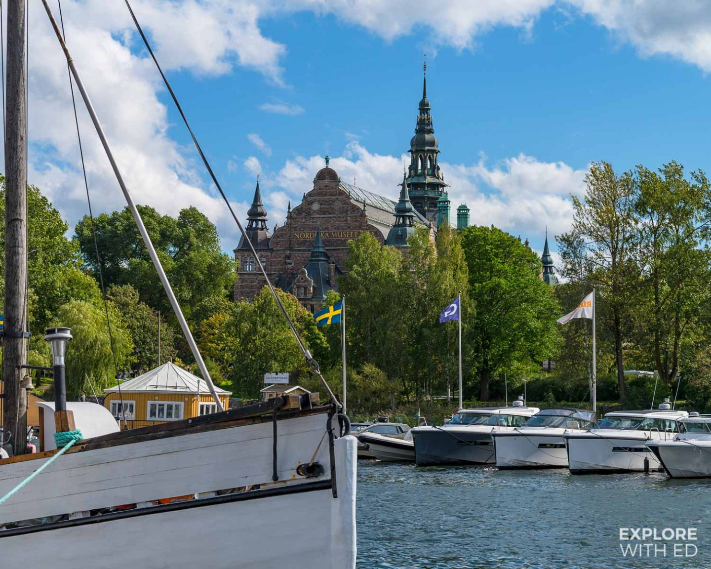 Stockholm Marina and Museum