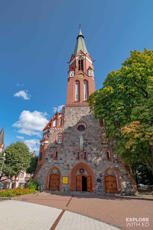 Church in Sopot, Poland
