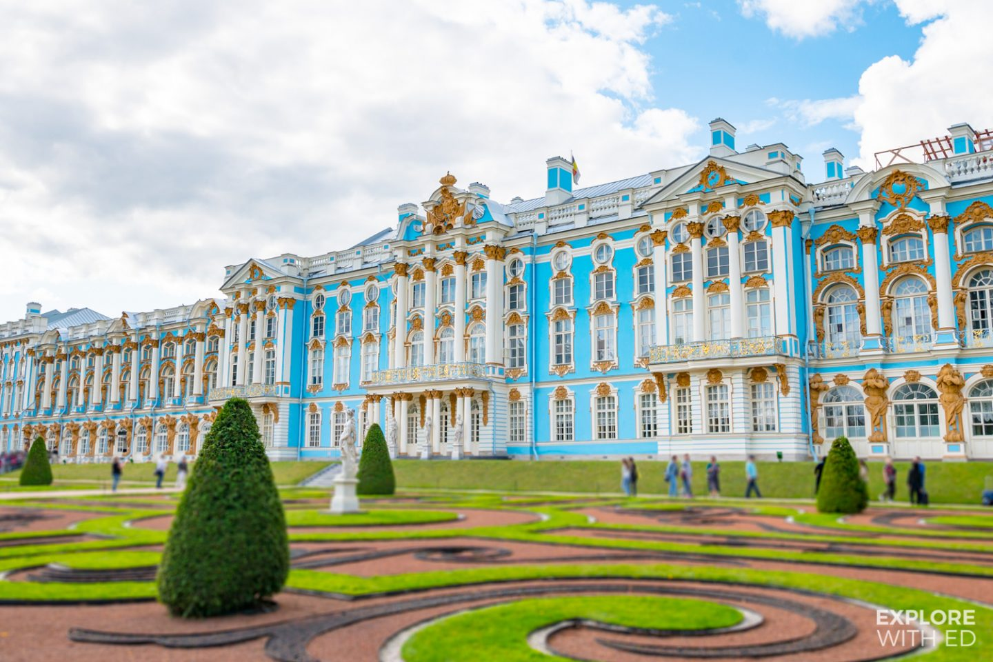 Exploring Catherine The Great's Palaces in Saint Petersburg, Russia