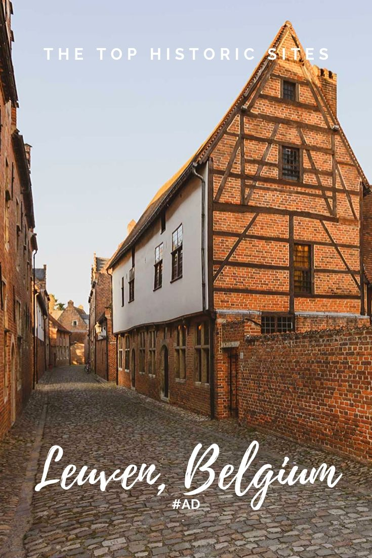 Visiting the top historical sites in Leuven, Belgium, including The Great Beguinage, a UNESCO World Heritage Site