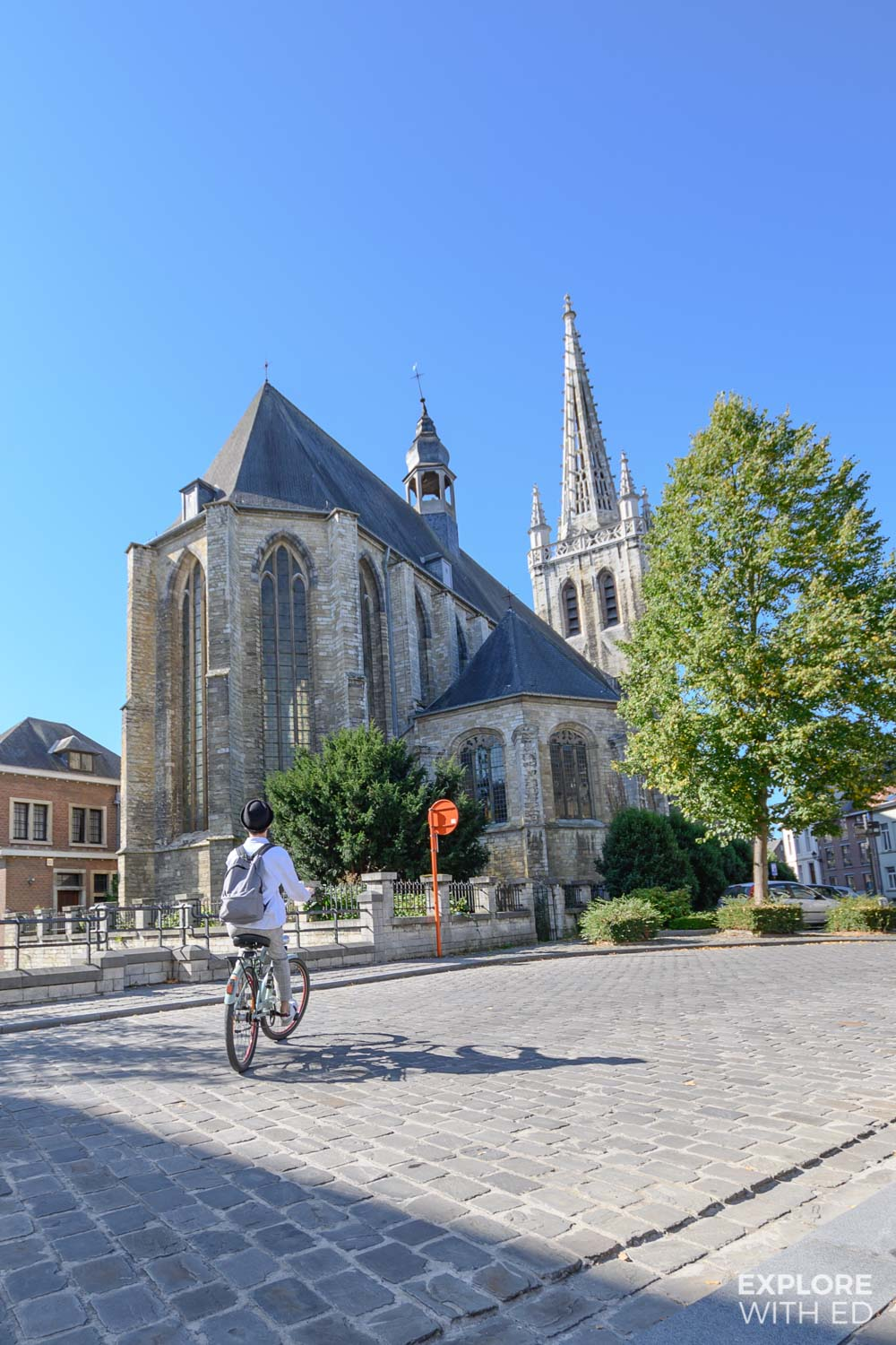 Bicycle ride to Leuven's Abbeys