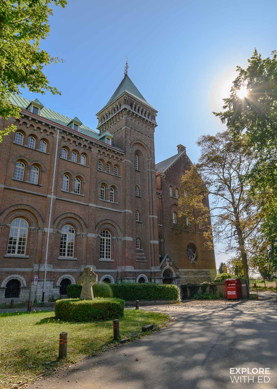 Keizersberg Abbey in Leuven, Belgium