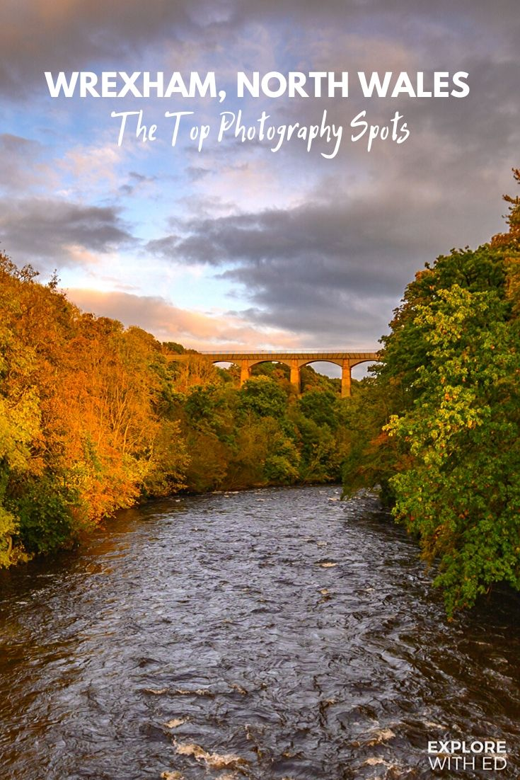 The Pontcysyllte Aqueduct, one of Wales's top photography spots in Wrexham