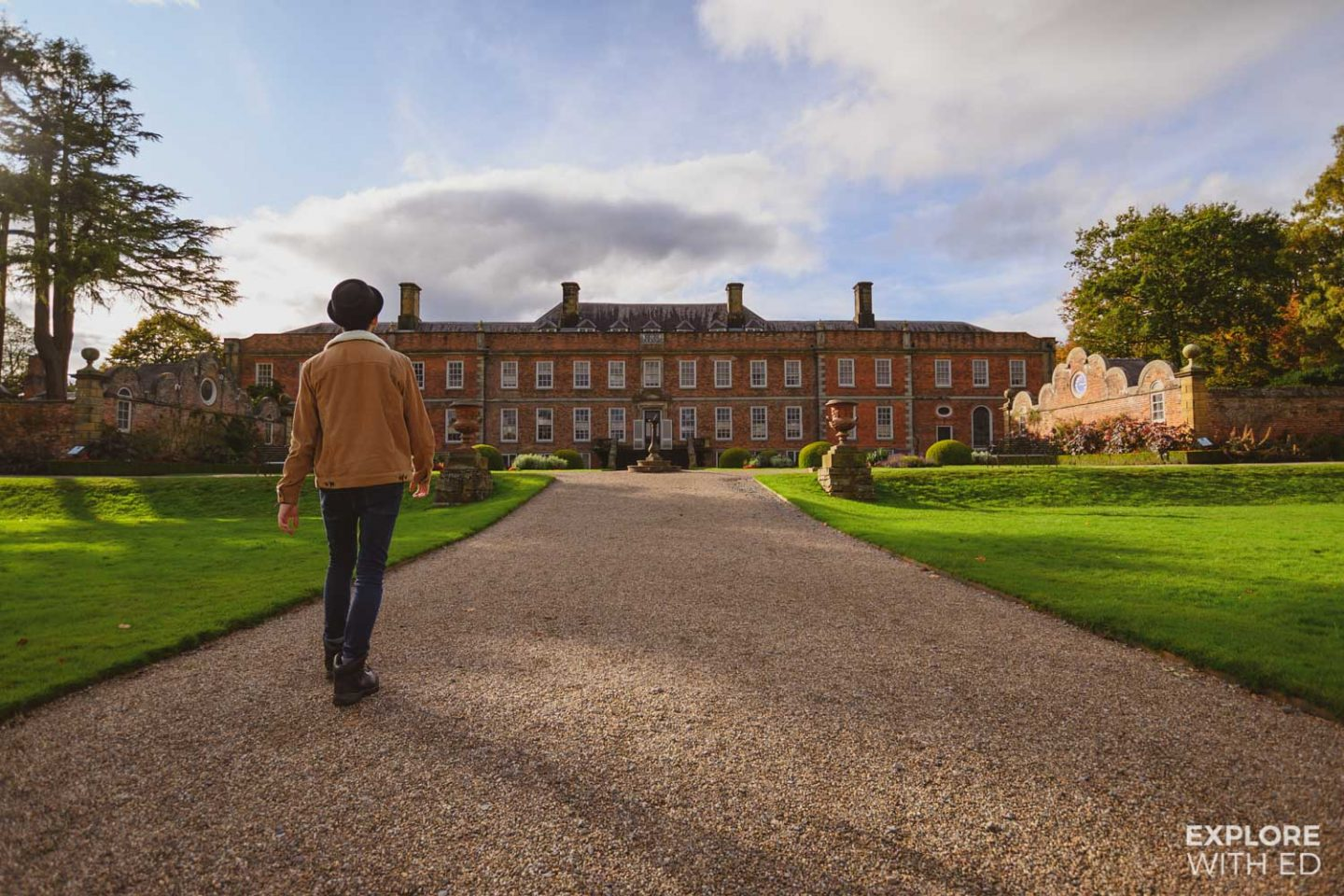 Erddig Hall, one of the top photography spots in Wrexham