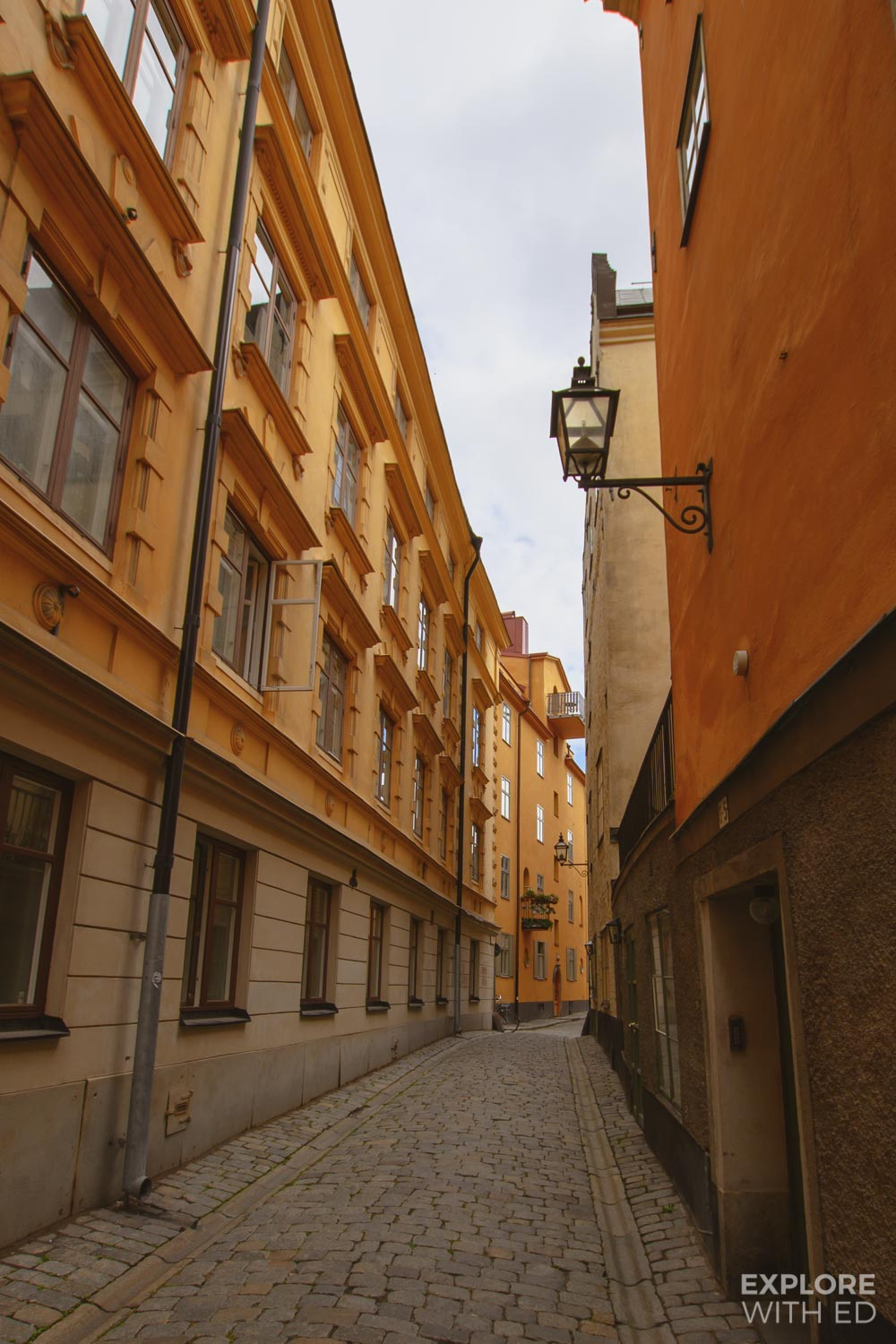 Side streets in Gamla Stan, Stockholm