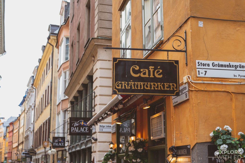 Cafe Gramunken in Gamla Stan